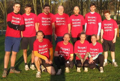 Bhopal Medical Appeal Marathon Running team