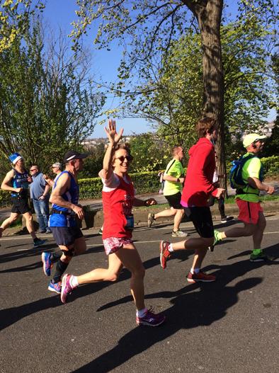 Jackie Rymell Brighton Marathon 2017