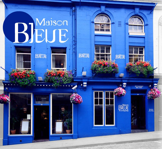 Maison Bleue restaurant Edinburgh to support the Bhopal Medical Appeal
